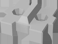 ストーンブロック突型