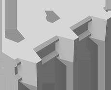 砂防ブロック変形
