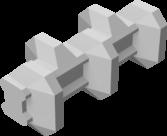 3連ブロック