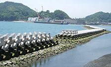 広島県尾道市土生海岸