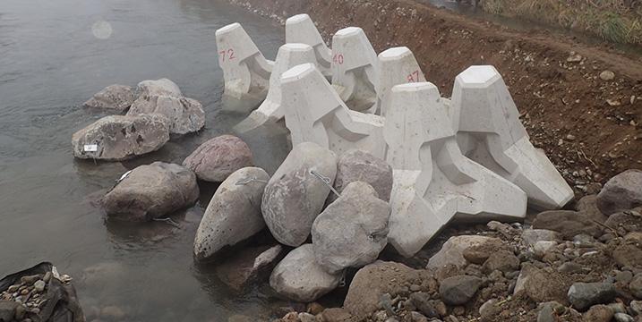 新潟県南魚沼市魚野川