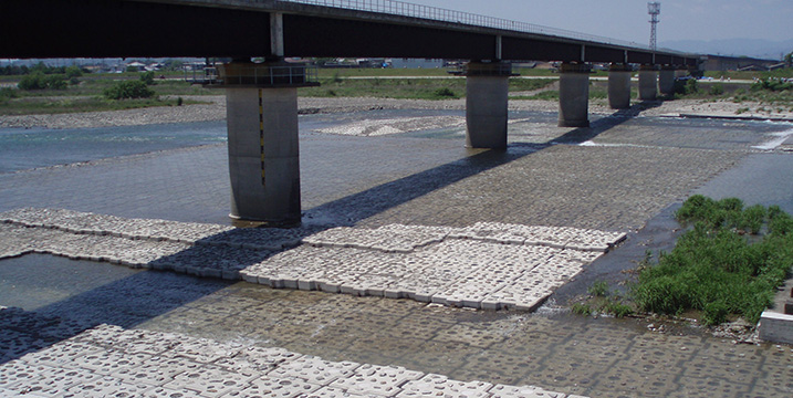 高知県香南市物部川