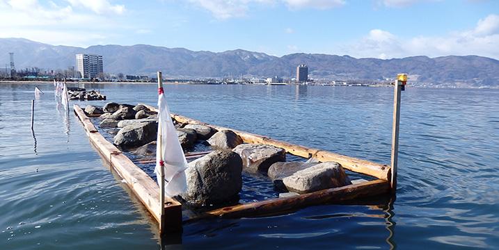長野県諏訪市諏訪湖